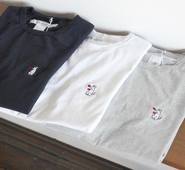 再: EEL Products イール プロダクツ 猫のジレンマ Tシャツ