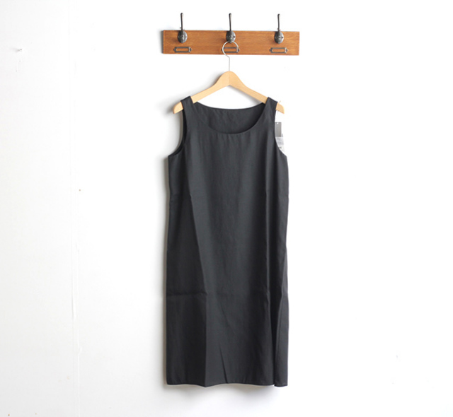 evam eva  エヴァムエヴァ inner sleeveless one-piece