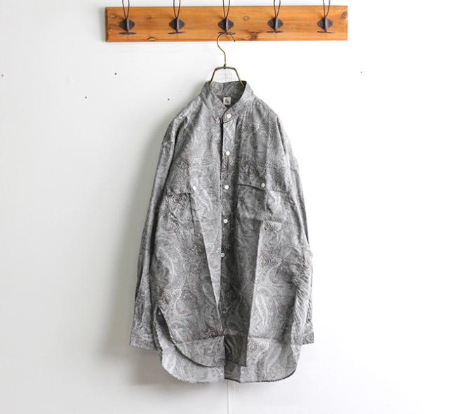 キャプテンサンシャイン KAPTAIN SUNSHINE Stand Collar Safari Shirt スタンドカラーサファリシャツ KS21SSH04