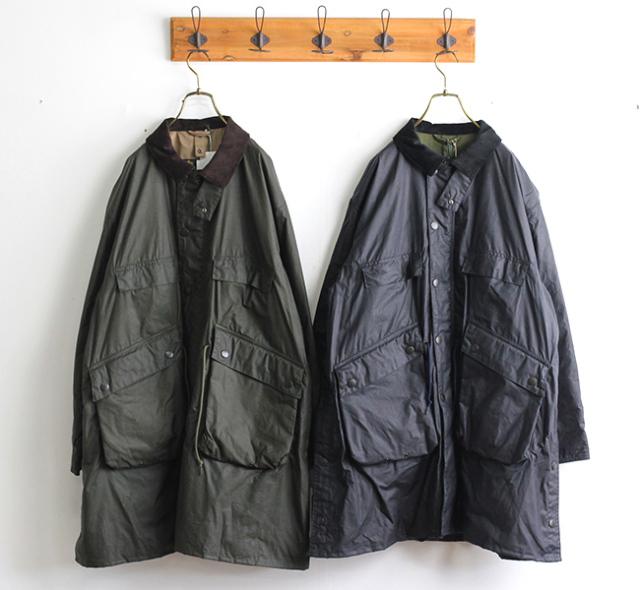 キャプテンサンシャイン ×バブアー  KAPTAIN SUNSHINE × Barbour スタンドカラートラベラーコート Stand Collar Traveller Coat KS20FBB01