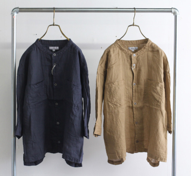 ordinary fits オーディナリーフィッツ リネンサファリシャツ LINEN SAFARI SHIRT OF-S059