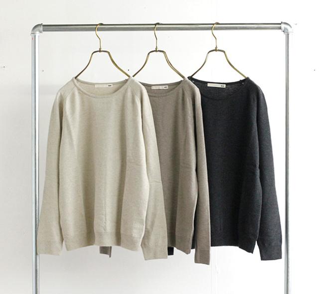 evam eva  エヴァムエヴァ ウールプルオーバー wool pullover E213K038