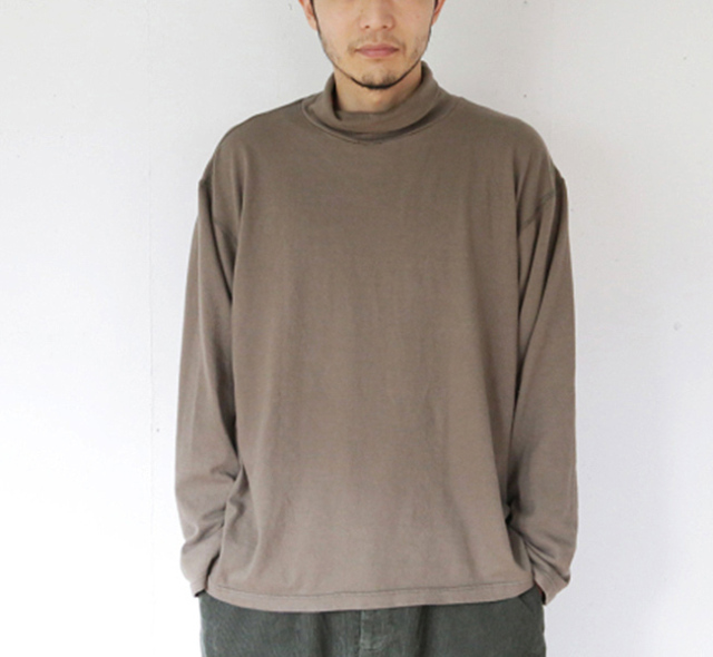 EEL Products イール プロダクツ  カットソー COMMON HI-NECK E-20571
