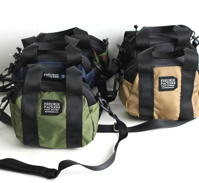 FREDRIK PACKERS  フレドリックパッカーズ 420D PACKCLOTH OVAL PACK