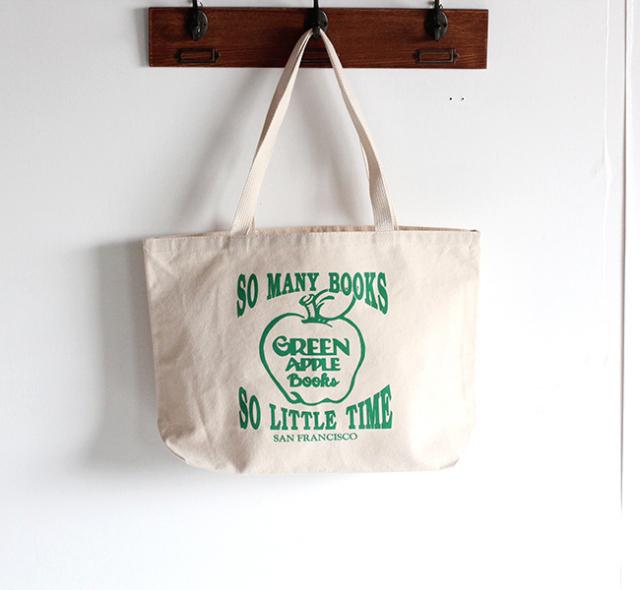 GREEN APPLE BOOKS トート