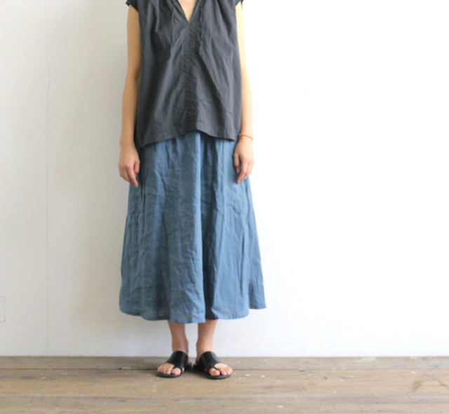 SALE40%OFF ordinary fits オーディナリーフィッツ レディース TRAVEL SKIRT linen トラベルスカート リネン OF-K007