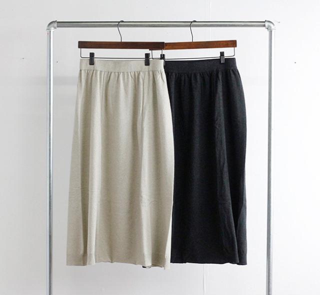 evam eva  エヴァムエヴァ ウールサルエルパンツ wool sarrouel pants E213K042