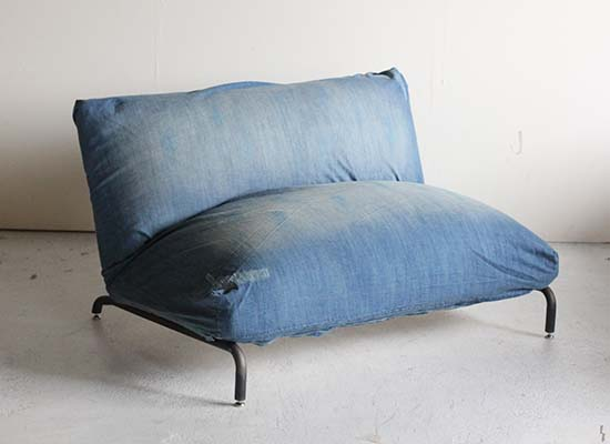 journal standard Furniture ジャーナルスタンダードファニチャー  RODEZ CHAIR 2P COVER DENIM