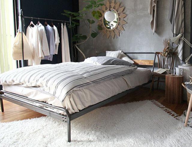 a depeche socph bed double ソコフ ベッド ダブル