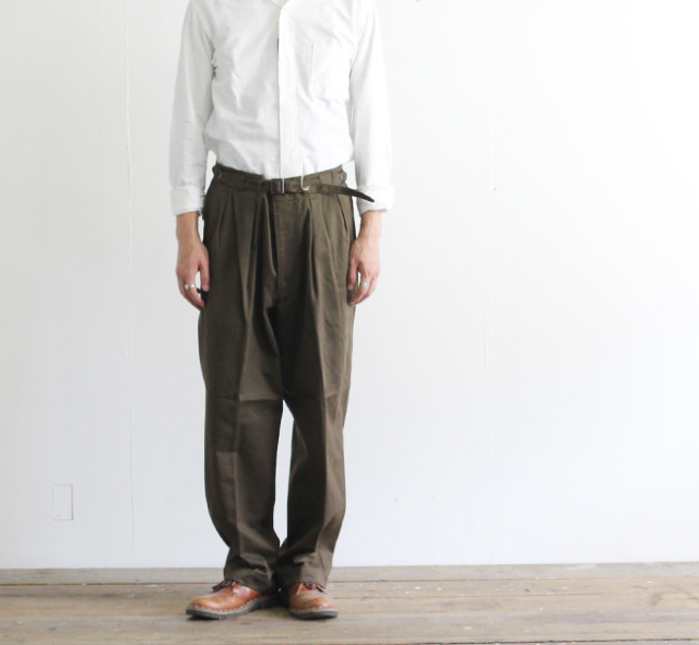 キャプテンサンシャイン KAPTAIN SUNSHINE グルカトラウザーズ Gurkha Trousers  KS9FPT06