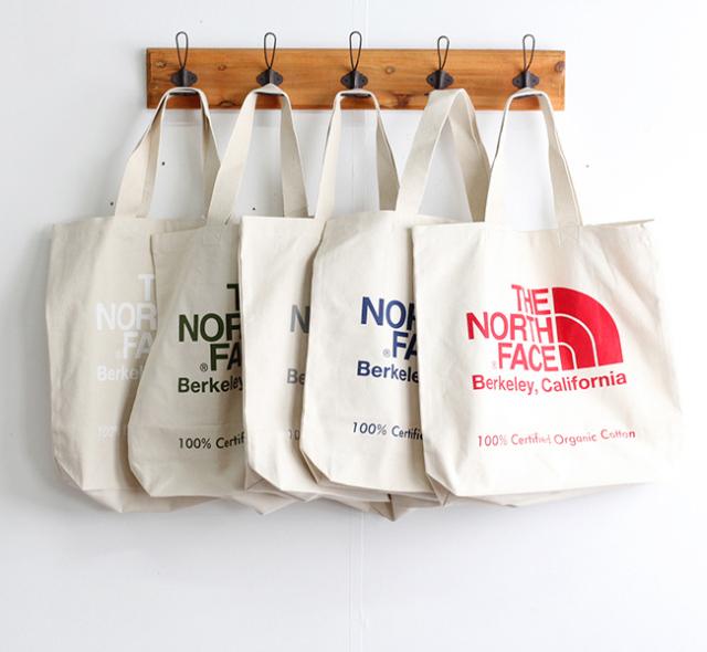 ザノースフェイス THE NORTH FACE  TNFオーガニックコットントート TNF Organic Cotton Tote NM81971