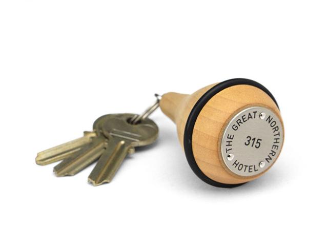 Cooper II Hotel Key Tag  クーパーII ホテルキータグ