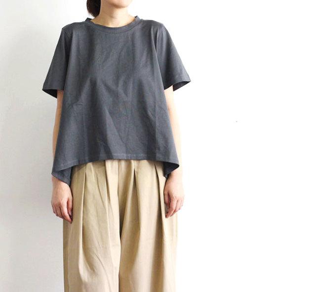 mizuiro-ind  ミズイロインド クルーネックフレアTシャツ 2-21835502