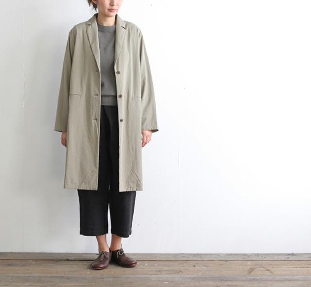 evam eva  エヴァムエヴァ wide jacket coat E191T036