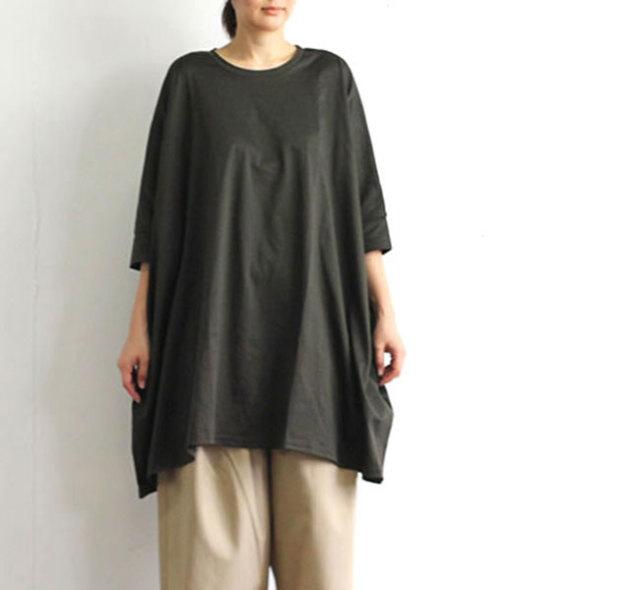 SALE30%OFF mizuiro-ind  ミズイロインド クルーネックワイドTシャツ 2-21836502