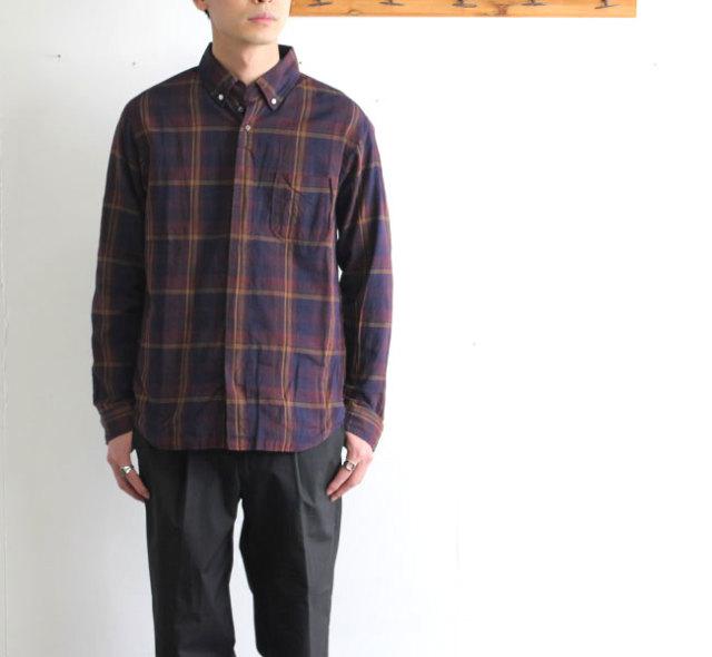 SALE20%OFF nisica ニシカ  ボタンダウンシャツ チェック NIS-906