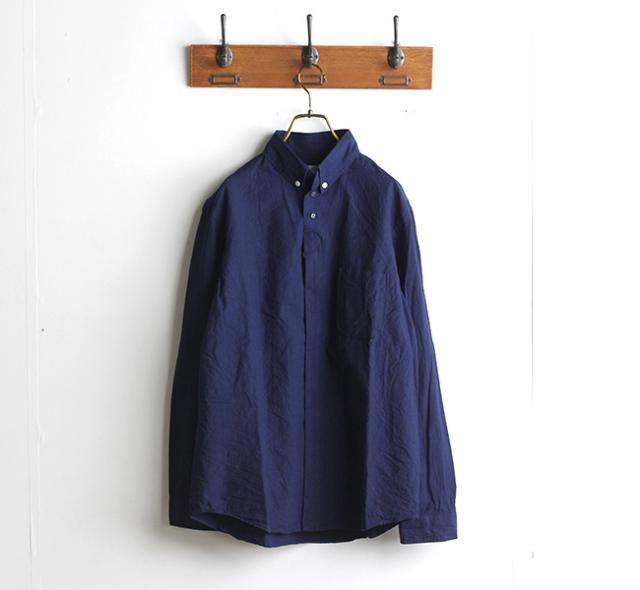 SALE20%OFF nisica ニシカ  ボタンダウンシャツ インディゴ