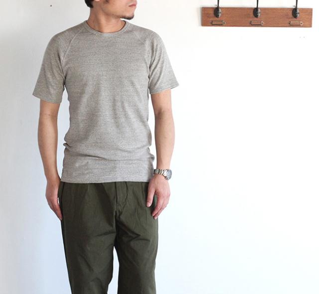 Kepani  ケパニ ラフィーストレッチフライス ショートスリーブTシャツ KP9901MS