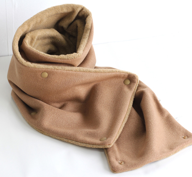 SALE40%OFF スリープスロープ Knit Melton Snap Snood ニットメルトン スナップスヌード
