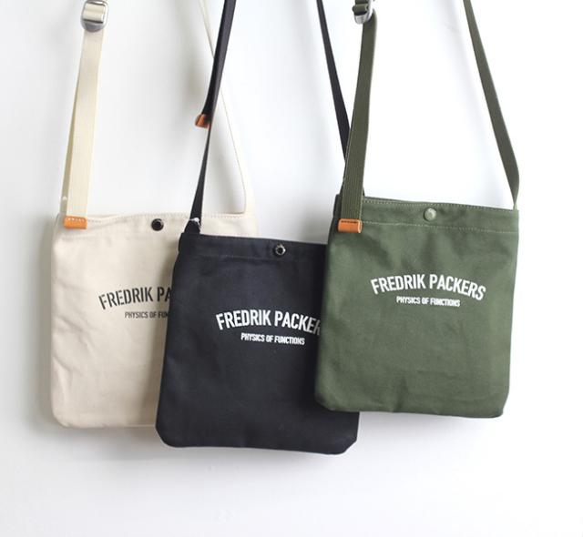 FREDRIK PACKERS  フレドリックパッカーズ DUCKブックショルダーバッグ M
