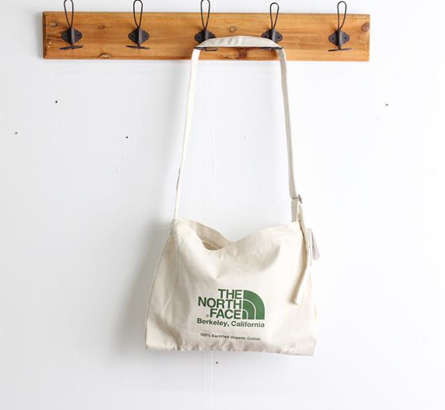 ザノースフェイス THE NORTH FACE  ミュゼットバッグ  Musette Bag  NM81972 GG ナチュラル×ガーデングリーン