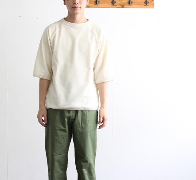 Jackman ジャックマン JM5811 1/2 Sleeved T-Shirt  1/2スリーブTシャツ