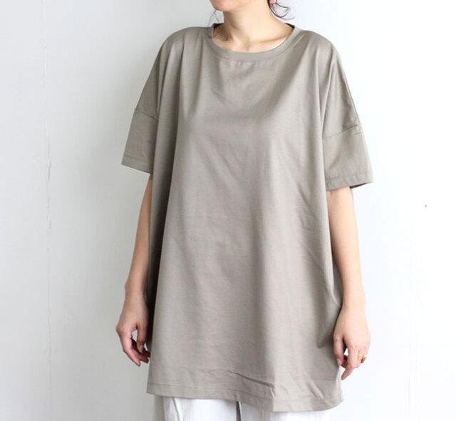 mizuiro-ind  ミズイロインド クルーネックワイドTシャツ 2-219144