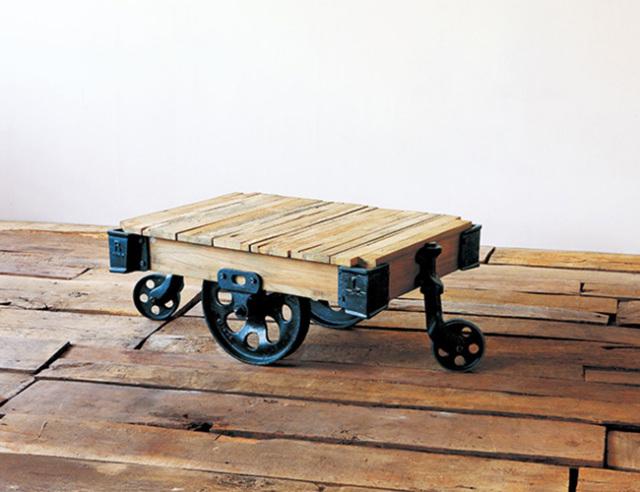 ACME FURNITURE アクメファニチャー GUILD DOLLY TABLE ギルドドーリーテーブル