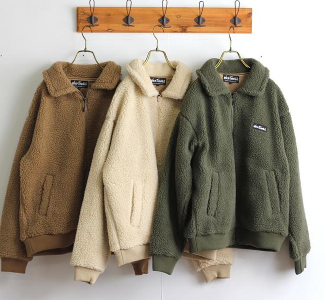 WILD THINGS ワイルド シングス フラッフィーボアG-1ジャケット FLUFFY BOA G-1 WT19119N