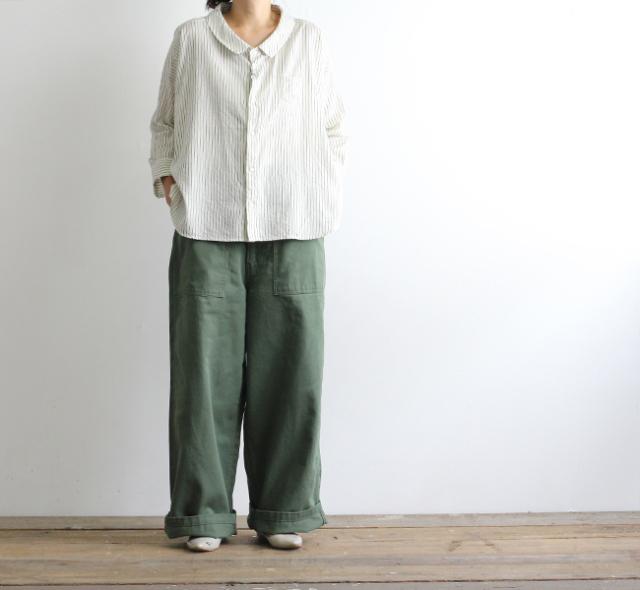 ordinary fits オーディナリーフィッツ レディース パイプファティーグパンツ PIPE FATIGUE PANTS OF-P005