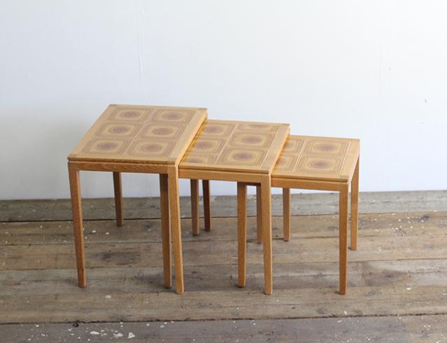 デンマークヴィンテージ ネストテーブル 北欧家具