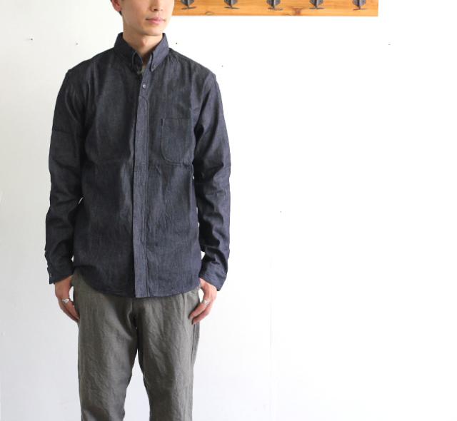 SALE40%OFF nisica ニシカ ボタンダウンシャツ デニム