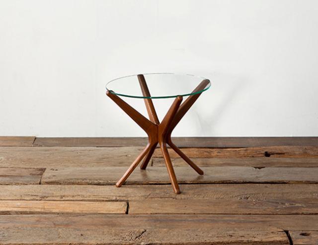 ACME FURNITURE アクメファニチャー TRESTLES SIDE TABLE トラッセルサイドテーブル