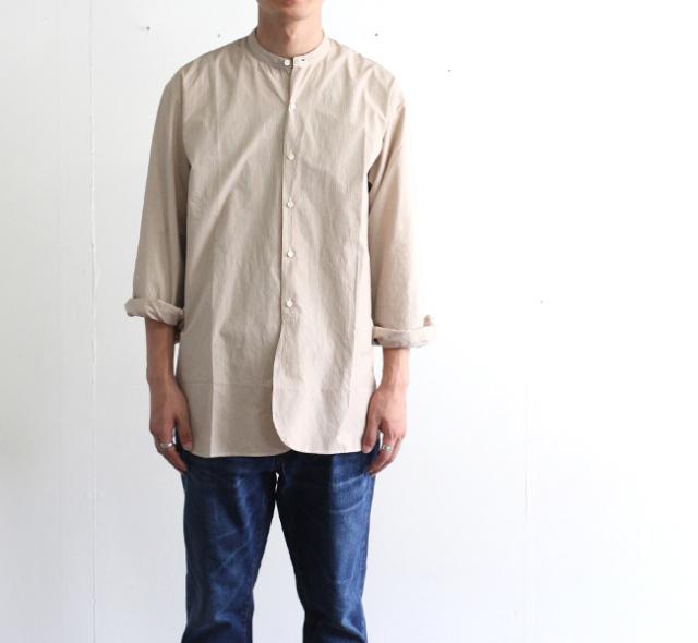 キャプテンサンシャイン KAPTAIN SUNSHINE バンドカラーシャツ BAND COLLOR SHIRT KS9FSH06
