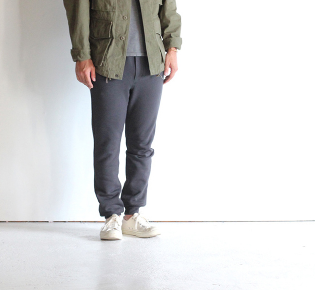 SALE50%  A VONTADE アボンタージ Sweat Trousers -organic cotton fleece-