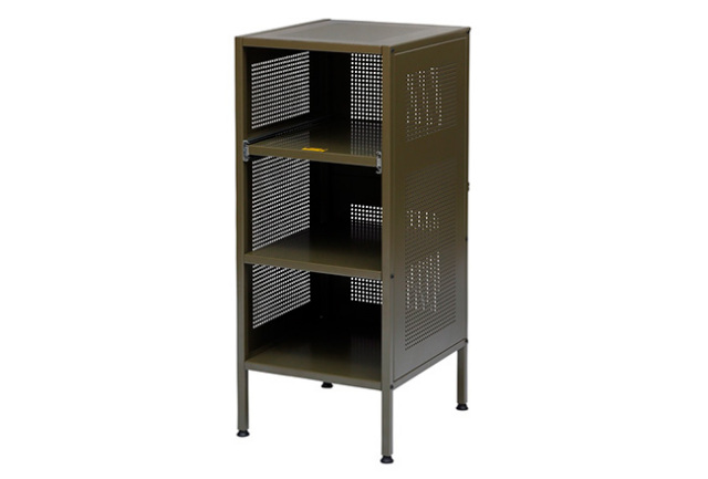 journal standard Furniture ジャーナルスタンダードファニチャー  ALLEN STEEL SHELF SMALL KHAKI アレンスチールシェルフカーキ