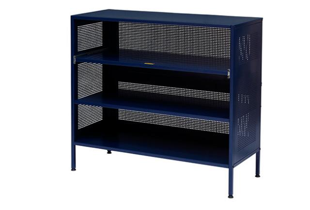 journal standard Furniture ジャーナルスタンダードファニチャー  ALLEN STEEL SHELF NAVY アレンスチールシェルフネイビー