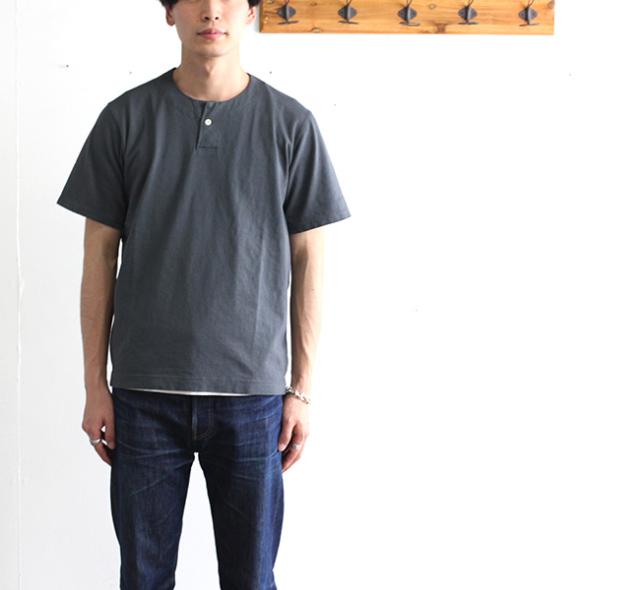 SALE20%OFF Jackman ジャックマン  JM5713 Henry neck T-Shirt ヘンリーネックTシャツ