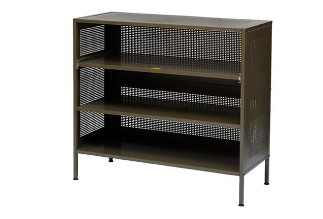 journal standard Furniture ジャーナルスタンダードファニチャー  ALLEN STEEL SHELF KHAKI アレンスチールシェルフカーキ