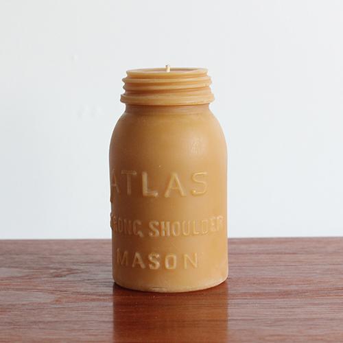 POLLEN ARTS ATLAS MASON BEE WAX 蜜蝋キャンドル