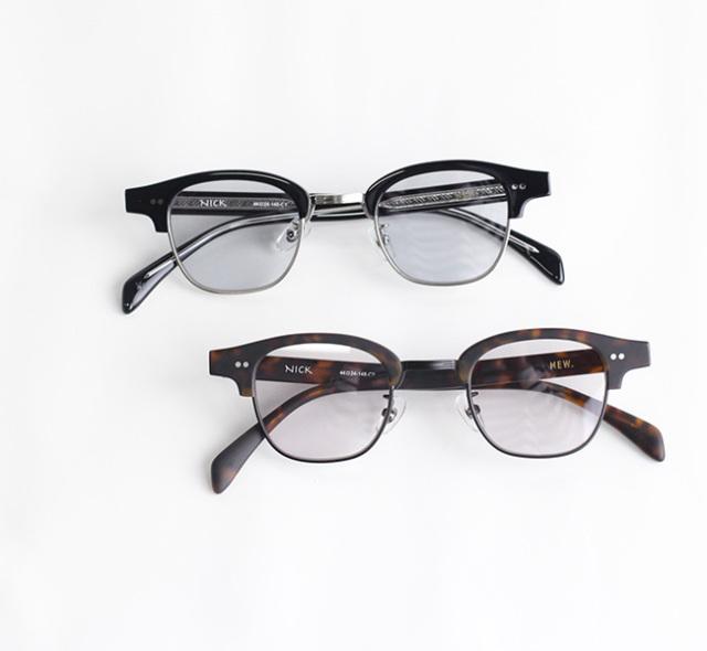 NEW. ニュー NICK ニック   (旧 NEWMAN ニューマン ) 眼鏡 サングラス