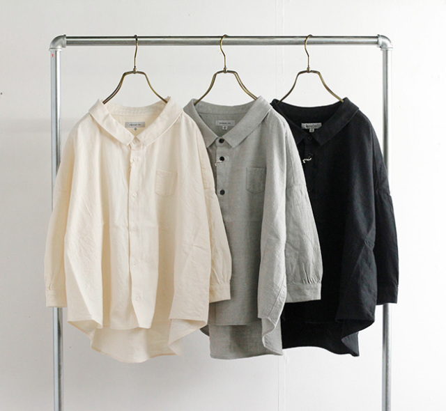 ordinary fits オーディナリーフィッツ バーバーシャツ BARBER SHIRTS OF-S064