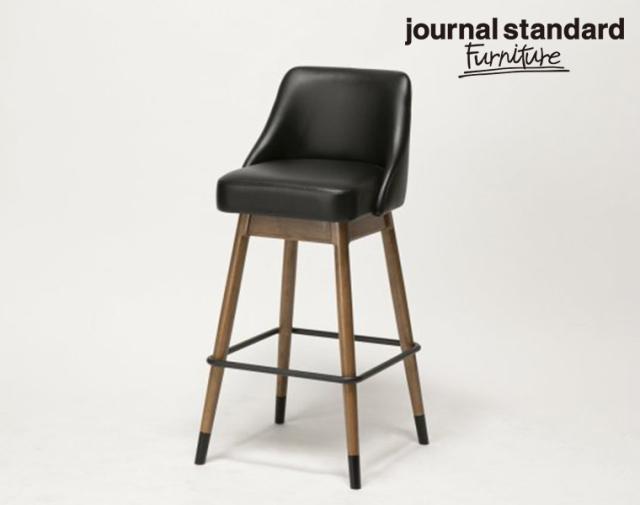 journal standard Furniture ジャーナルスタンダードファニチャー 家具 BOWERY HIGH CHAIR BK/バワリーハイチェア ブラック