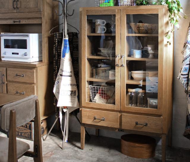 journal standard Furniture ジャーナルスタンダードファニチャー 家具 CHRYSTIE GLASS CABINET クリスティーグラスキャビネット