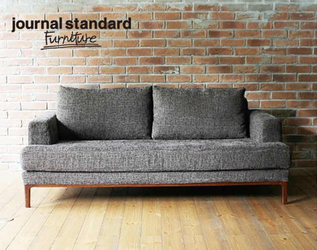 journal standard Furniture ジャーナルスタンダードファニチャー 家具 JFK SOFA DARK BROWN/ジェーエフケーソファ ダークブラウン