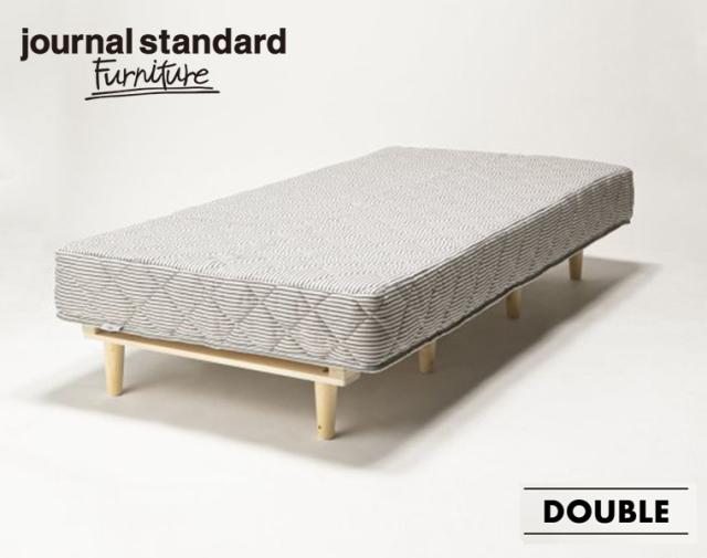 journal standard Furniture ジャーナルスタンダードファニチャー 家具 PAXTON MATTRESS BED D / パクストンマットレスベッド ダブル