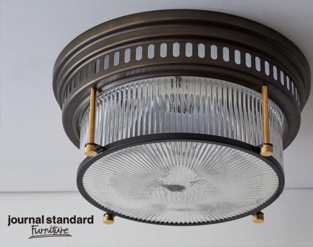 journal standard Furniture ジャーナルスタンダードファニチャー 家具 ROCHESTER CELING LIGHT ローチェスターシーリングライト 9月入荷予約
