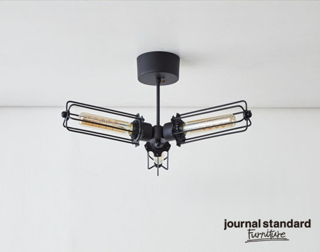 journal standard Furniture ジャーナルスタンダードファニチャー 家具 WINCHESTER CEILING LIGHT3 ウィンチェスターシーリングライト3