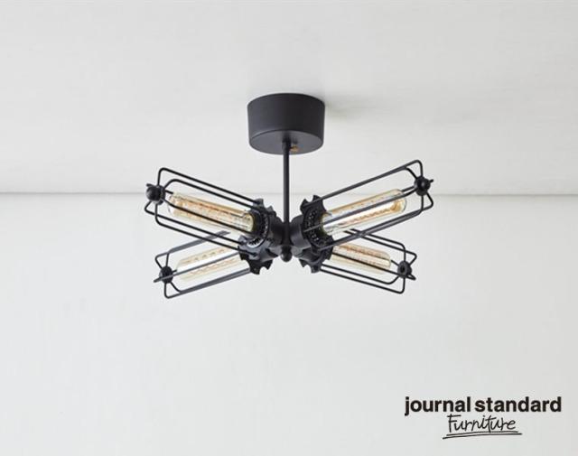 journal standard Furniture ジャーナルスタンダードファニチャー 家具 WINCHESTER CEILING LIGHT4 ウィンチェスターシーリングライト4