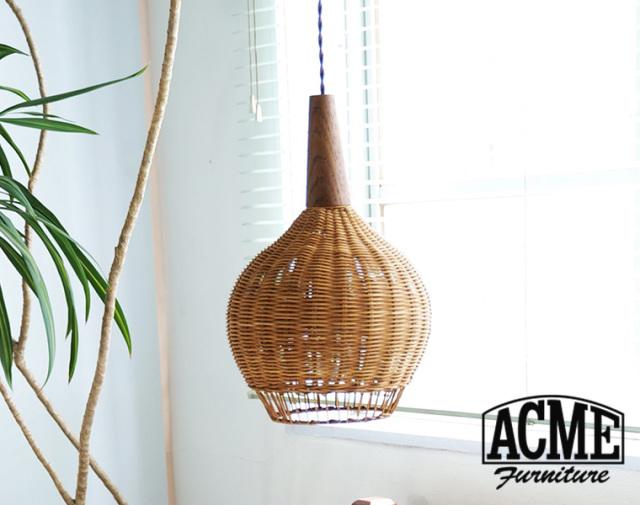 ACME FURNITURE アクメファニチャー WICKER LAMP 2nd ウィッカーランプ 7月入荷予約